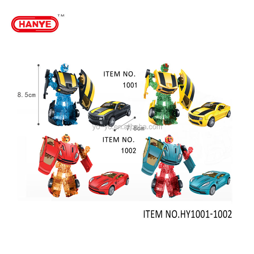 HY-1001-1002 Transformeren <span class=keywords><strong>Robot</strong></span> <span class=keywords><strong>speelgoed</strong></span> en auto <span class=keywords><strong>speelgoed</strong></span> voor kinderen gift
