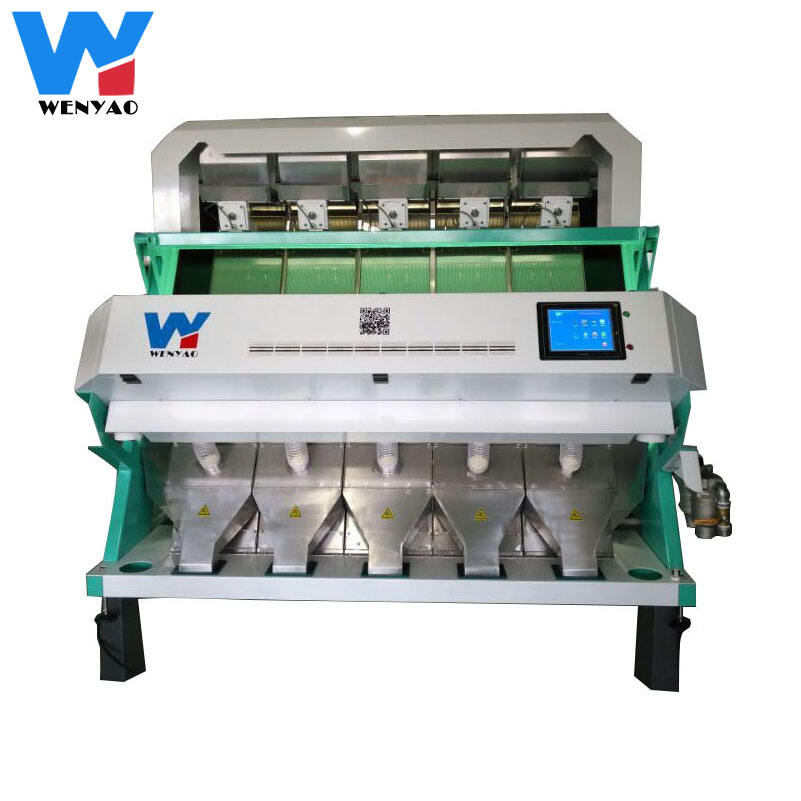High pixels ccd rgb pine nuts color separation machine