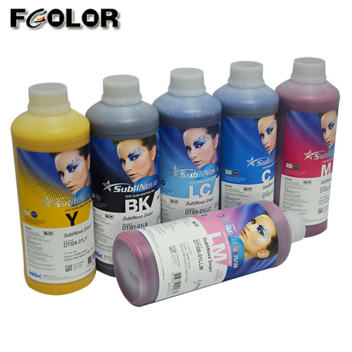 1000ml High Quality Korea Inktec Sublimation Ink For Transfer Printer Dye Sublimation Ink