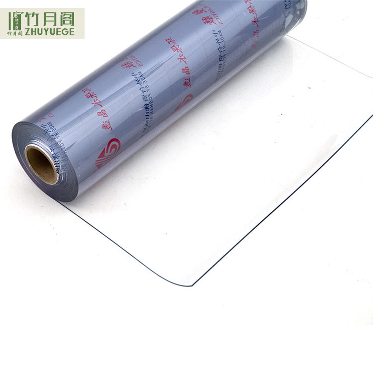 Transparante Zachte PVC Films Plastic Clear Film Roll Voor Verpakking/Printing