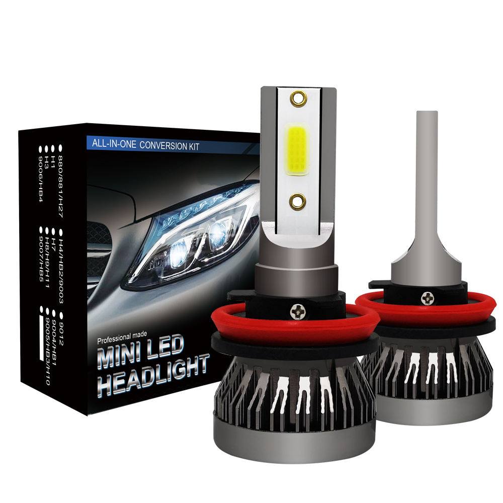Hotsales New Design C6 Led H1 H7 H11 9005 9006 9012 Headlight Car Bulb 36W Bright 6000LM