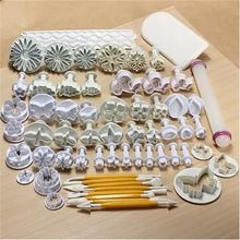 Fondant Cakes Biscuits Embossing Mould Suit Cake Decorating Tools