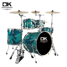 New design musical percussion drums 7 pieces available adult acustic drum set for sale