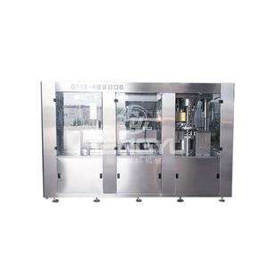 hot sale Heng Yu automatic PET beverage soft drink / juice canning / capping machine / can filling production line price