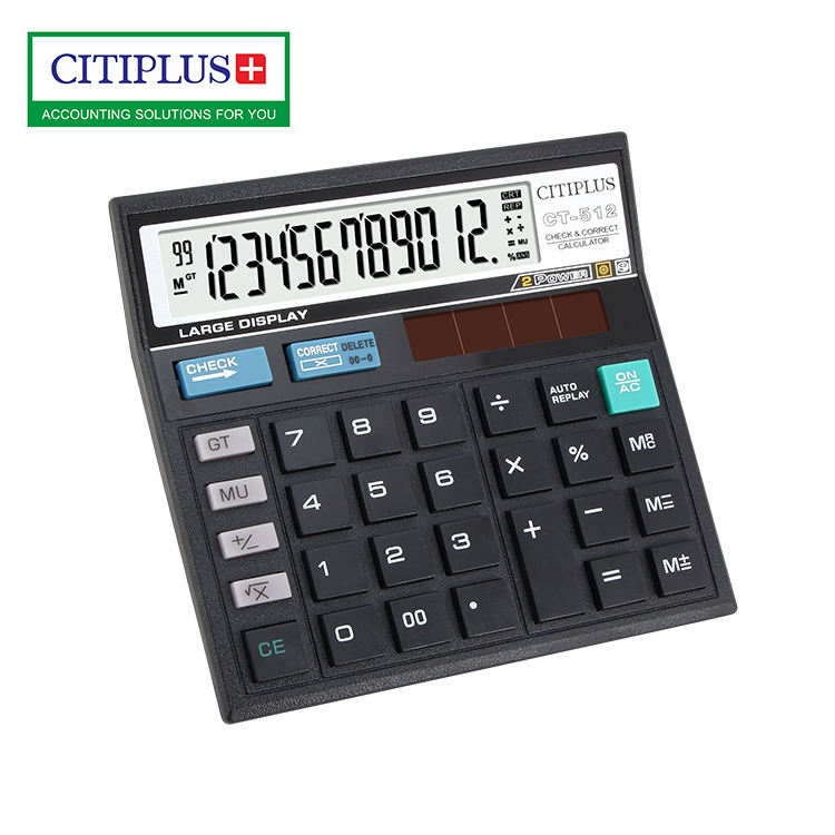 CITIPLUS India hot selling SKD packing ct 5 12 calculator