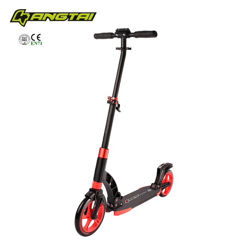 230mm Large wheels Adult scooter suspension push kick scooter