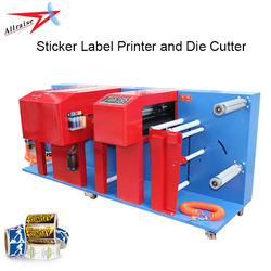 4 Colors Roll to Roll UV Inkjet Digital Label Printer for Sticker,PVC