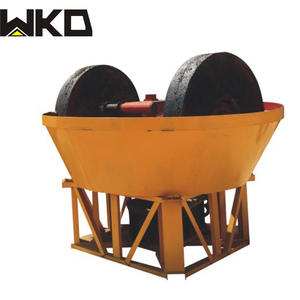 good quality mining equipment small scale gold mining machinery gold ore grinding wet pan mill for sale