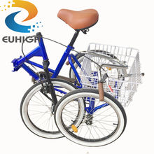 For shopping adult fold tricycle