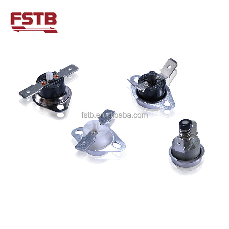 FSTB Manual Reset Temperature Cutoff Switch Thermal Protector KSD301 Bimetal Thermostat