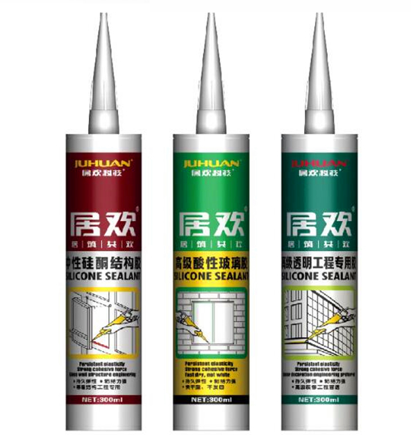 JUHUAN one component professional private label adhesive silicone sealant