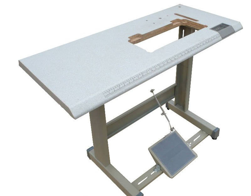 Industrial sewing machine table and stand