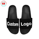 eva plain slide sandal black pvc mens slide sandal custom logo slide sandal new york slipper