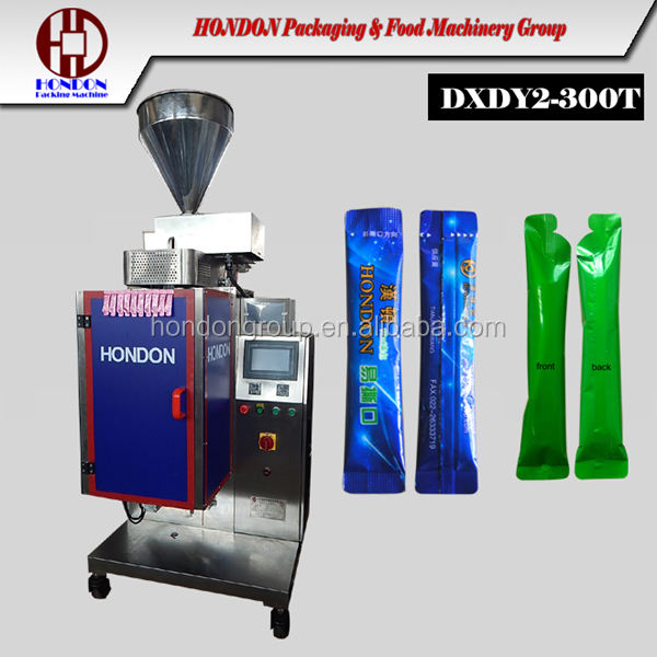 2016 hot sale sticky wild honey bag packaging machine Model DXDY2-300T