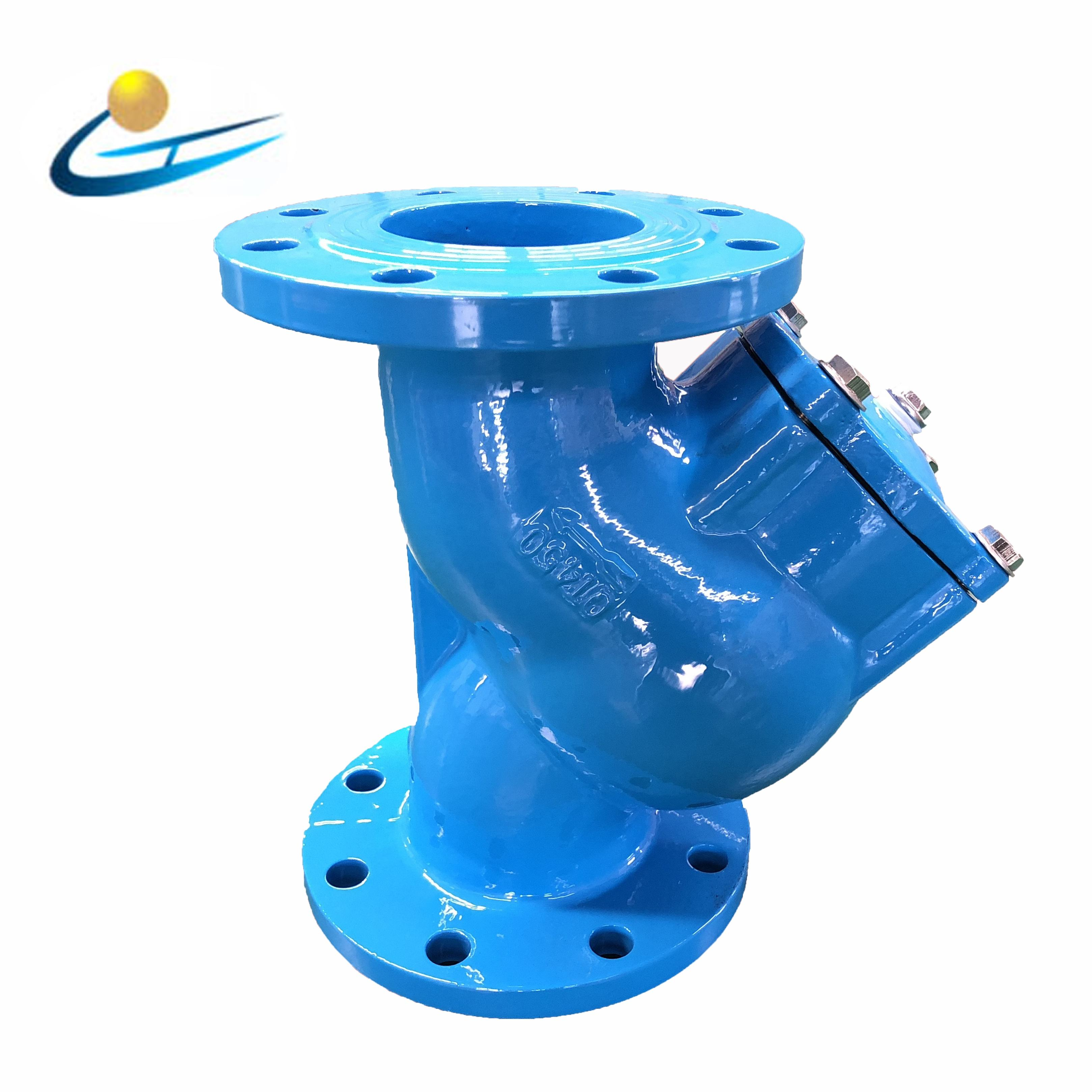 China factory price ductile iron GGG50 DN40 DN400 y type drain strainer prices y strainer