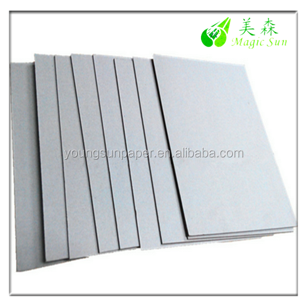3mm compressed thick grey paper cardboard for photo frame