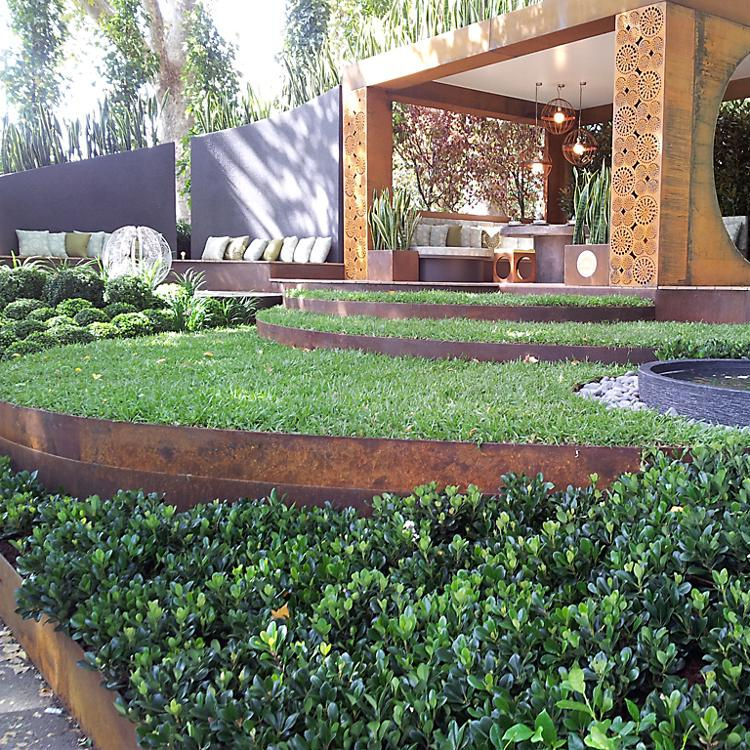 Corten Steel Landscape Border Landscape Corten Steel Edging