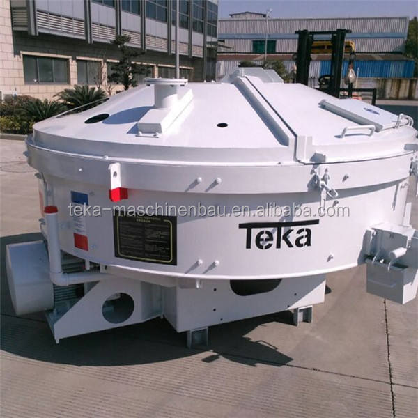 1m3 Germany Teka Pan Concrete Mixer THZ1500G