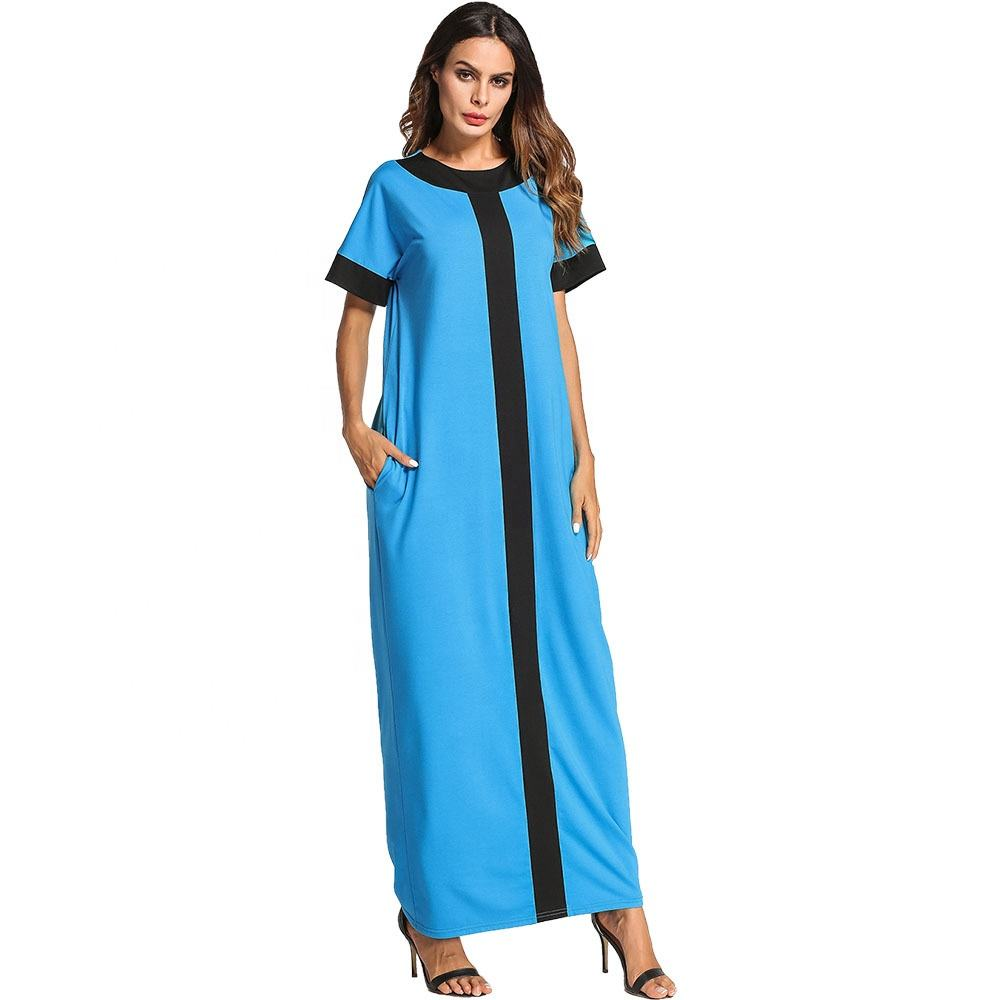 New world online shopping blue maxi dress blue dress