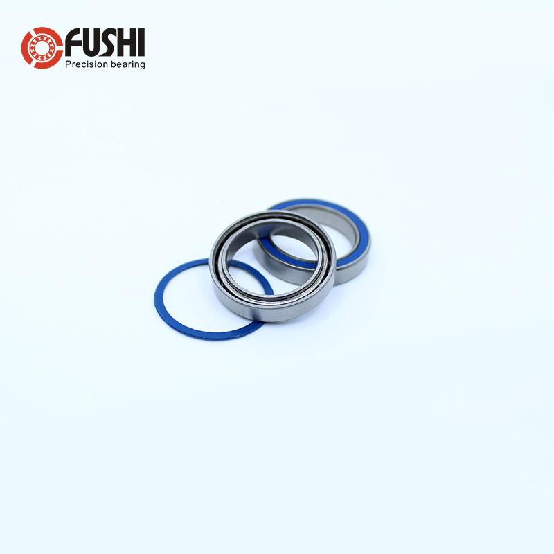 Rubber Sealed Ball Bearing Set 15x21x4 mm BLACK 6702RS 10 PCS 6702-2RS