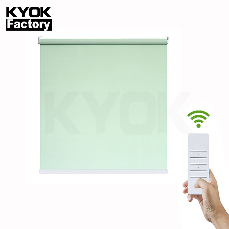 KIEI2019 ready made terrace sunscreen window zebra roller blind curtain