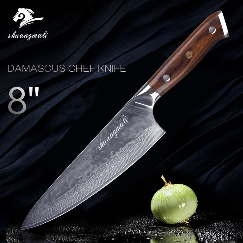 2019 Professional 67 Layers 8 inch Damascus Kitchen Chef Knife