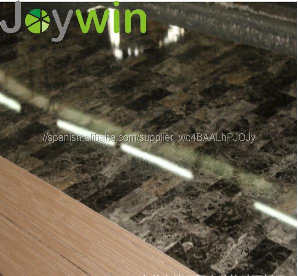 Uso interior durable de alto brillo UV MDF/MDF para mueble