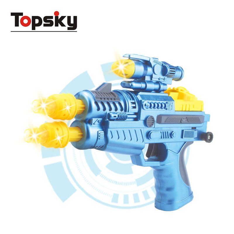 Police army machine gun child toy defender gun war game light up toy guns for sale