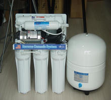 5 Stage or 6 Stage Household RO water purification system