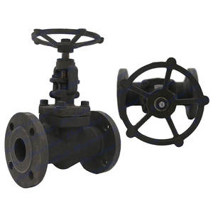 Bundor A105 Forged steel PN25 flanged globe valve