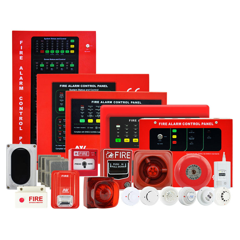 Original Factory Home Security Fire Alarm Control System