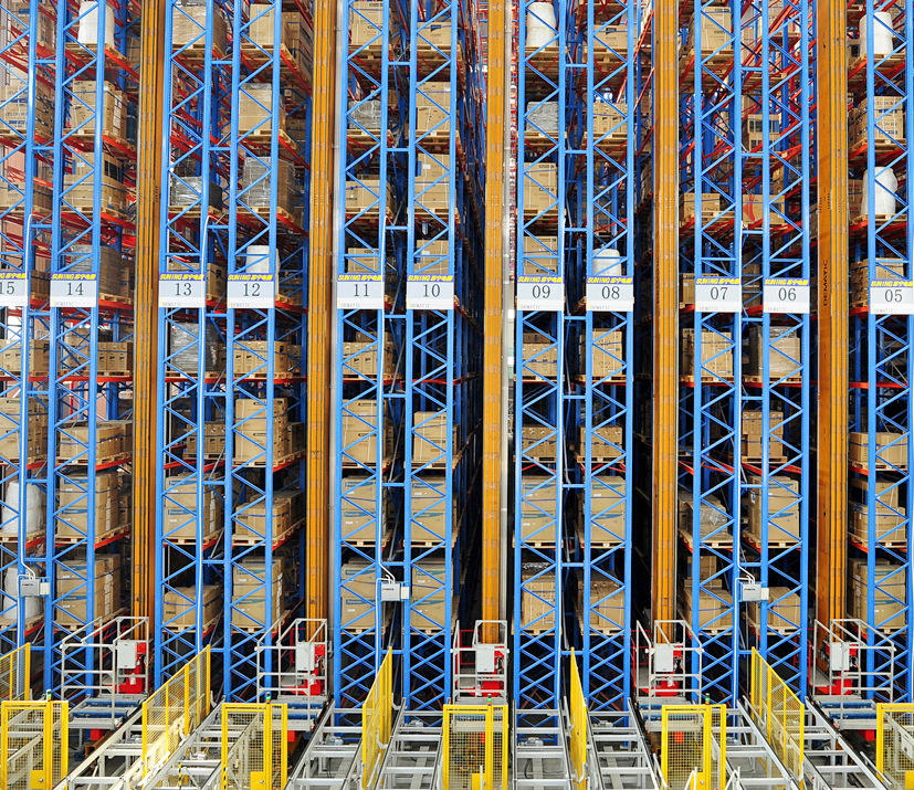 Warehouse storage Automatic Storage Retrieval System ASRS automatic system