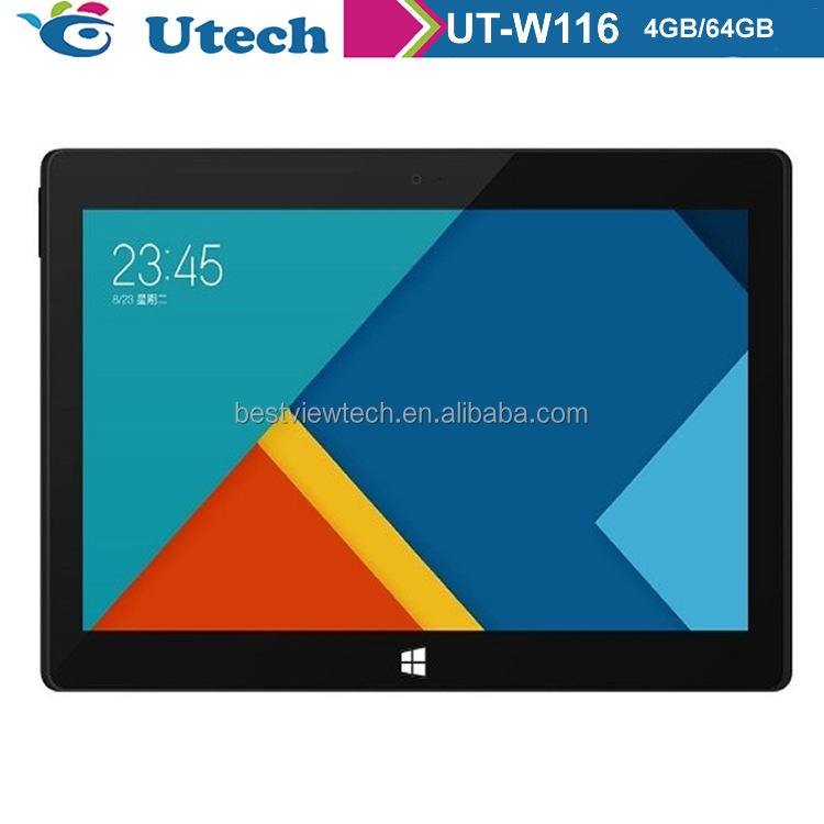 11.6 inch Tablet PC for Windows 10 Quad Core IPS 1280x800 128000mAh Keyboard Optional