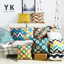 customized design home sofa decor office seat woven cushions for home decor