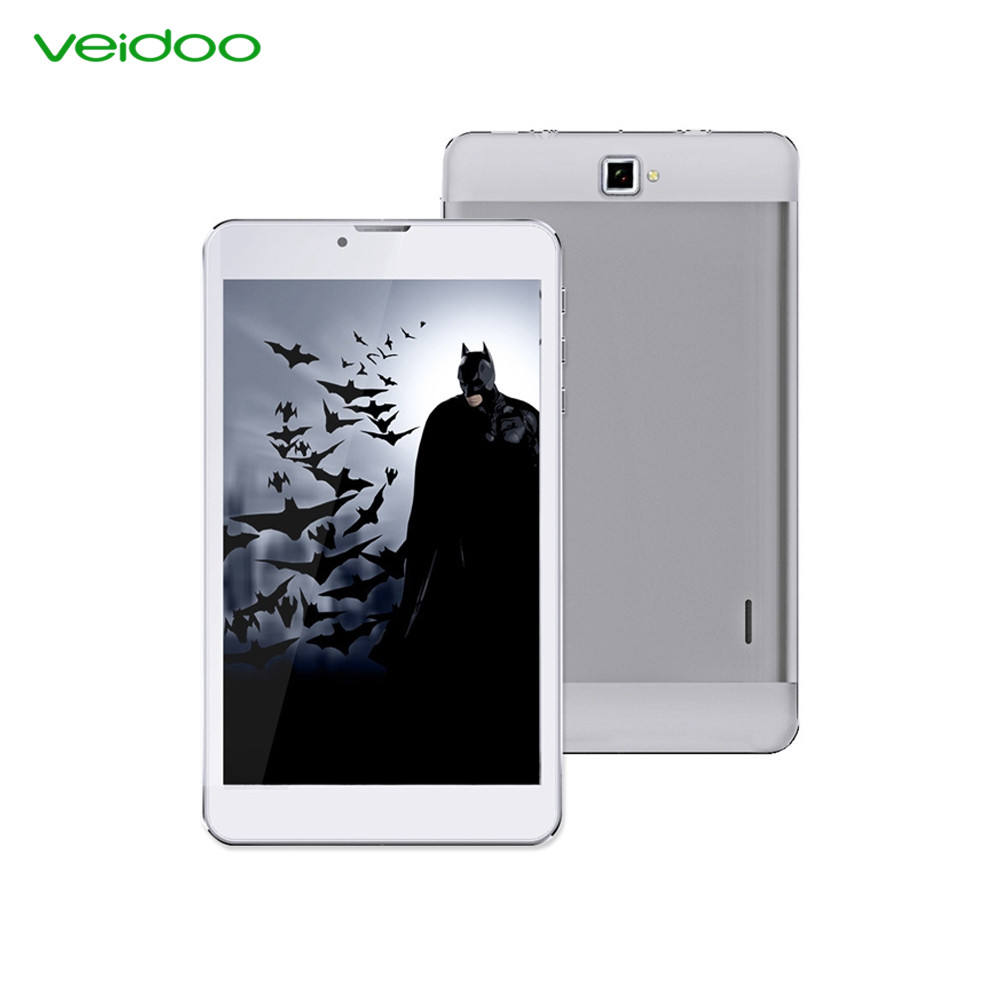 Veidoo China fabrik 7 zoll quad core dual sim karte tablet SC9832 4g Android 6.0 tablet PC
