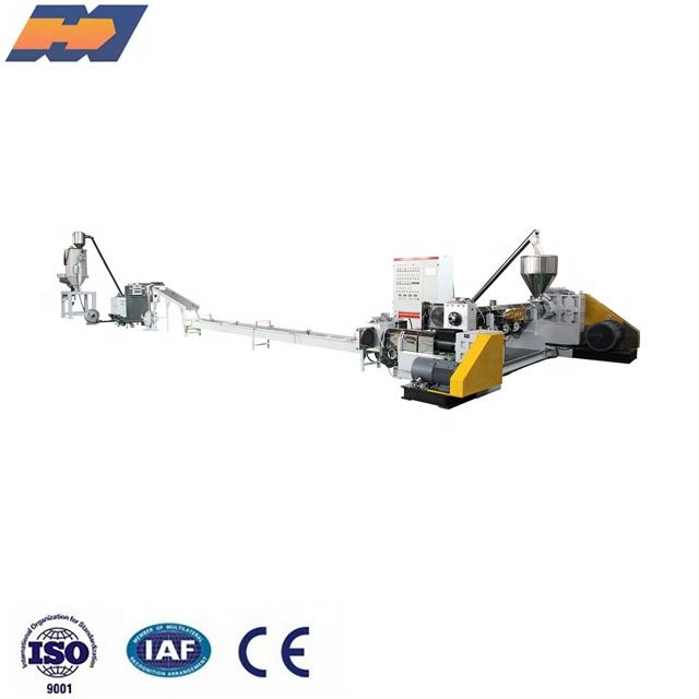 Top quality pp pe ps plastic granulator machine recycling