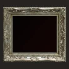 Antique Embossed baroque wood frame