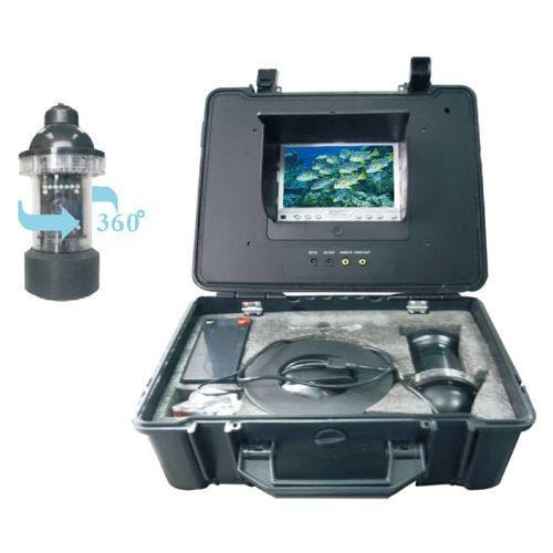 20M Cable Underwater Fishing Video Camera 600tvl CCD 360 Degree View Remote Control With 7 Inch LCD Monitor