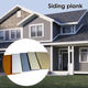 Vinyl Siding Siding Price Climate-Resistance Factory Direct External Wall Board Vinyl Siding