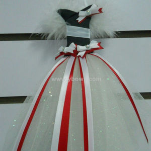 princess costume design hair bow holder free shipping custom design accept