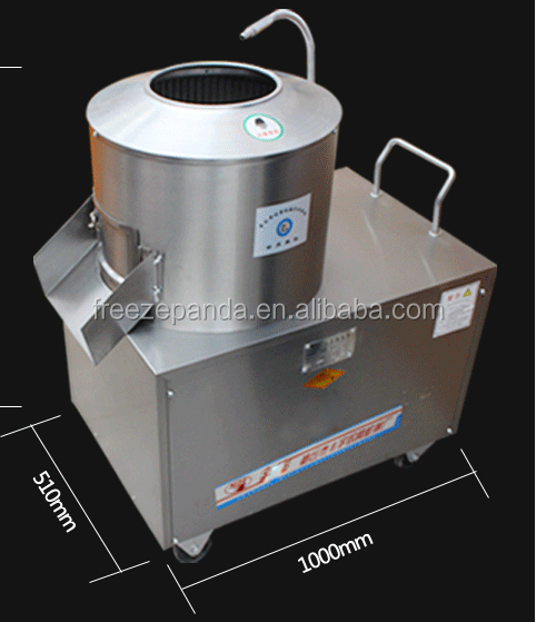 industrial commercial automatic electric potato peeler kitchen machine price potatoes washing and peeling machine