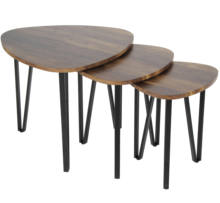 nesting table set for living room