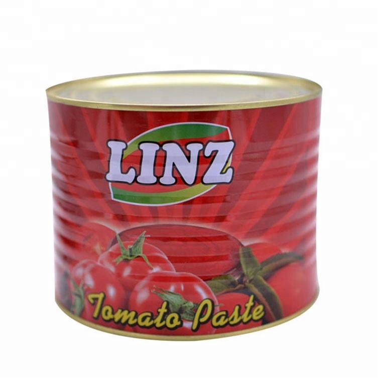 缶詰トマトペースト 2.2 キログラム包装パスタ醤油新鮮なトマト