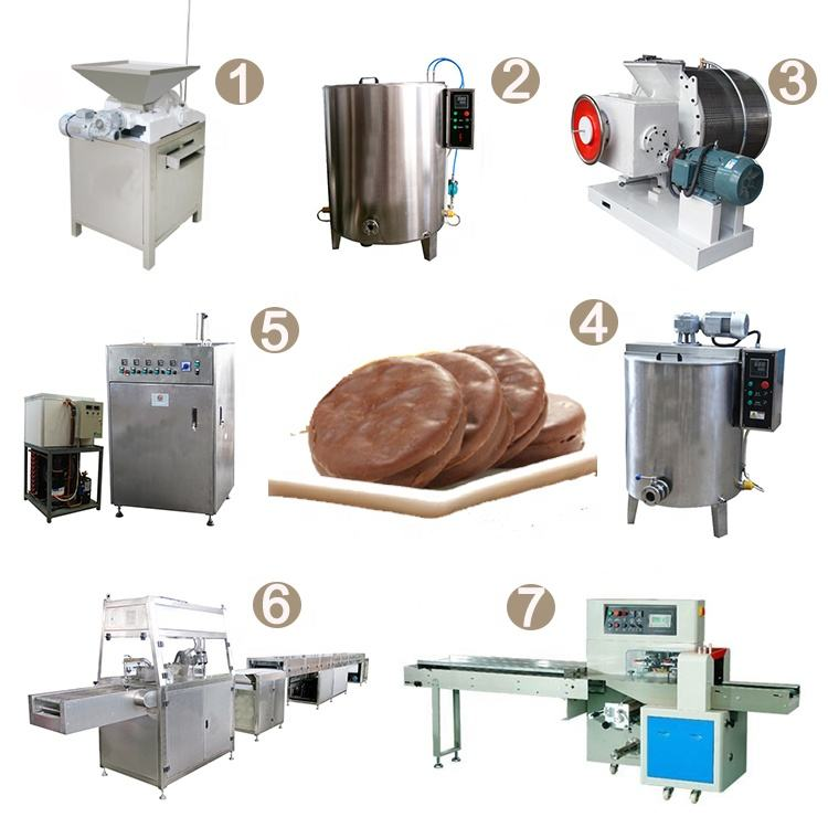 Chocolate Application and New Condition Chocolate Depositing Machine