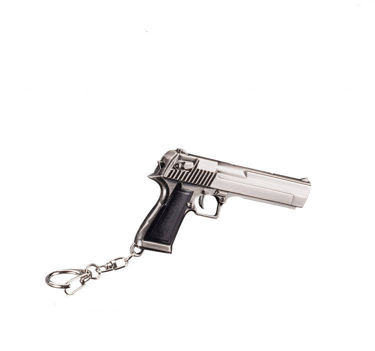 Sell Well Custom Mini Gun Key chain Weapon Model Keychain