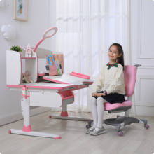 Children Furniture Height Adjustable Ergonomic Kids Study Table Chair
