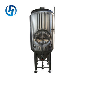 new style low cost red copper conical fermenter 1000l