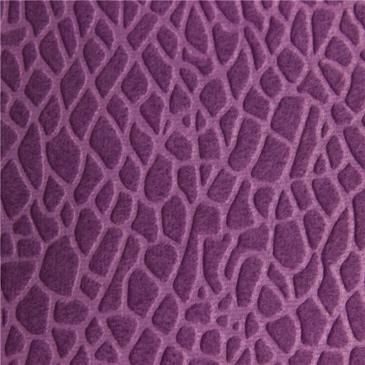 bursa textile turkey velboa embossed warp-knitted fabric velvet bonded with TC