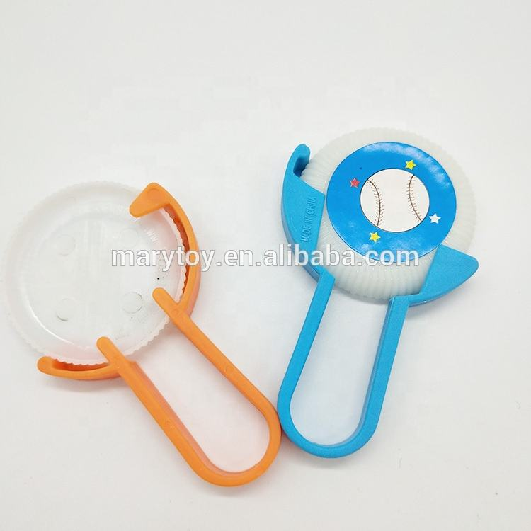 Wholesale Toy Capsule Disc Shooter Favors Plastic Launcher Toys For Boy