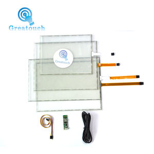 USB port flexible 4-wire resistive touch screen panel 10 inch